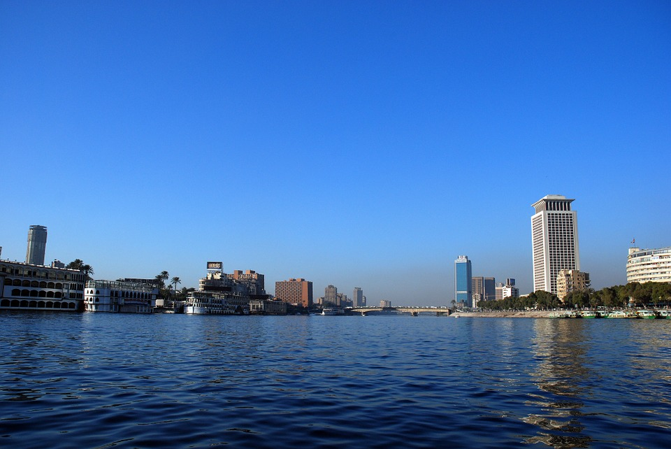 The Nile River in Cairo